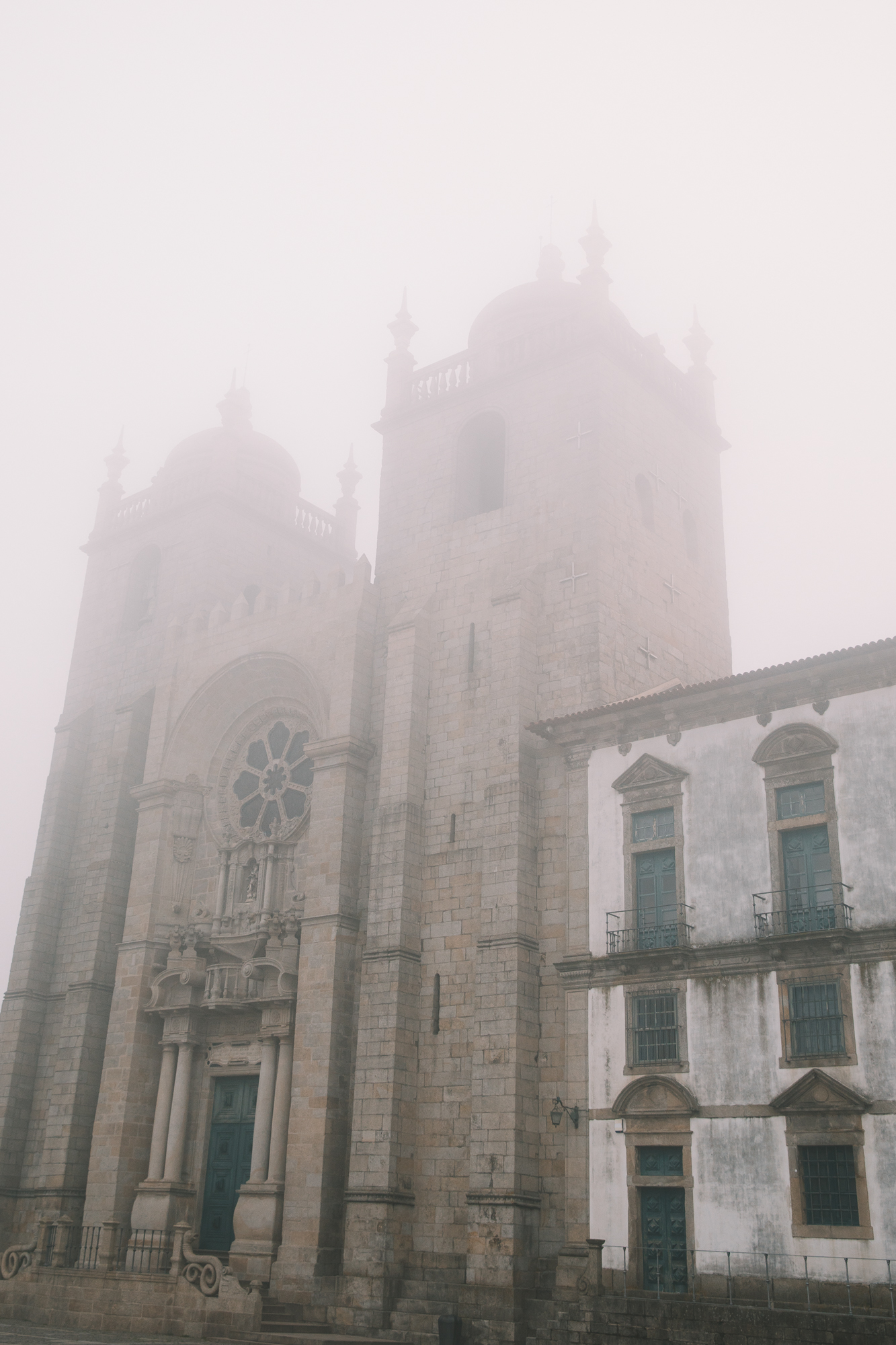 Fog at Cathedral Church
